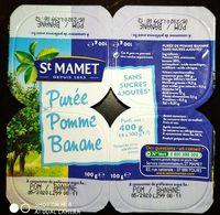 Purée Pomme Banane - Product - fr