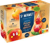 Berlingot smoothie pomme pêche abricot sans sucres ajoutés - Product - fr