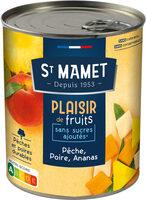 Plaisir de Fruits - Pêche Poire Ananas - Product - fr