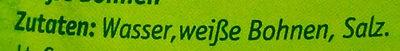 Weisse Bohnen - Zutaten - de