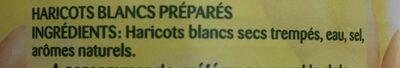 Weiße Bohnen - Ingrédients