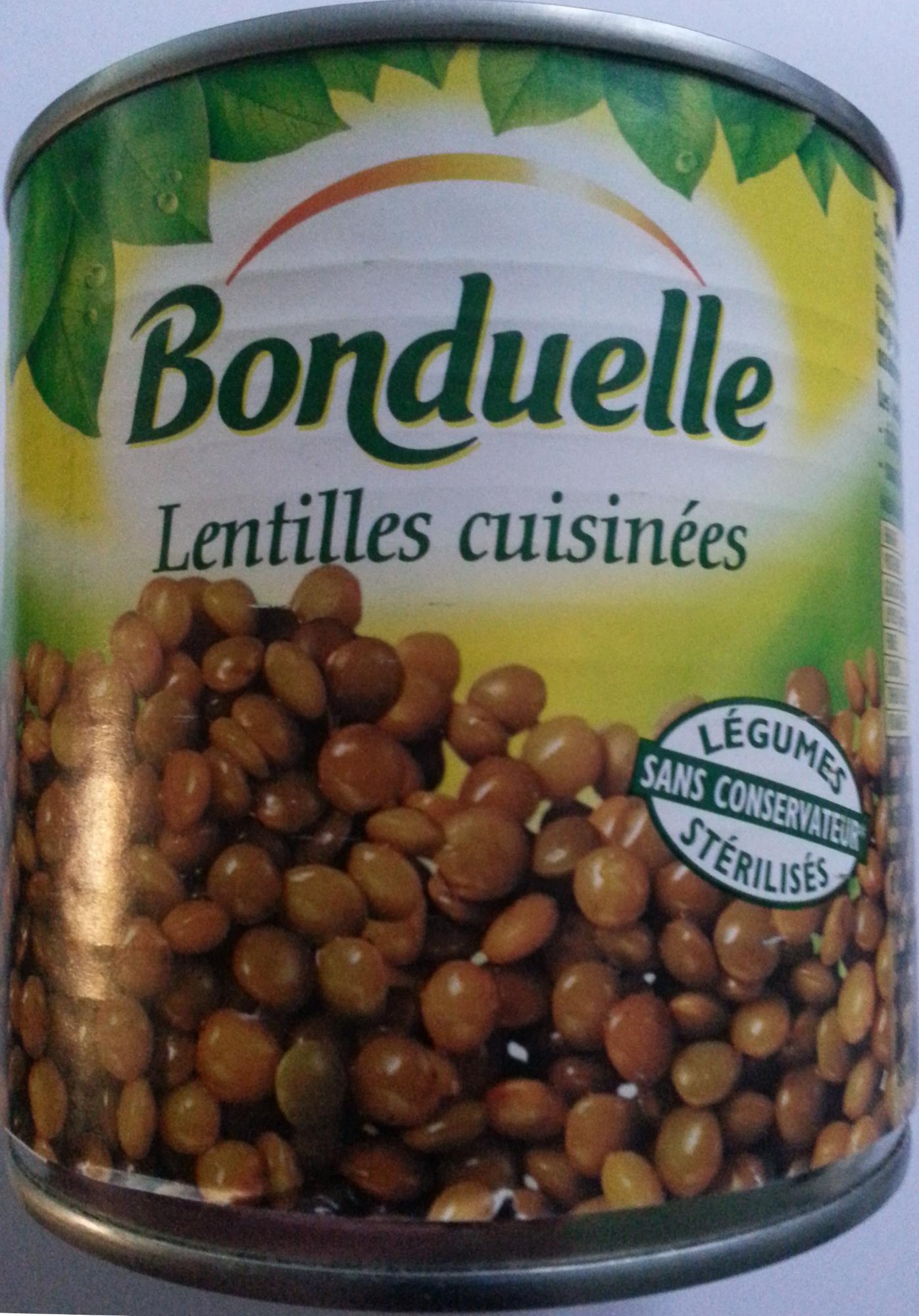 Lentilles cuisinées - 400 g - Bonduelle - Product - fr