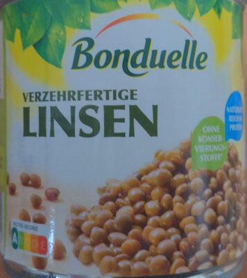 Verzehrfertige Linsen - Produit - fr