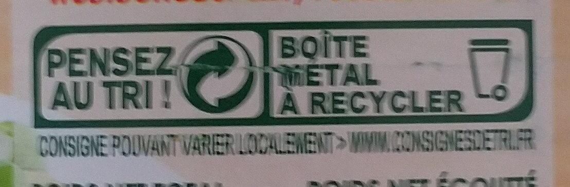 Macédoine de légumes - Instruction de recyclage et/ou informations d'emballage - fr