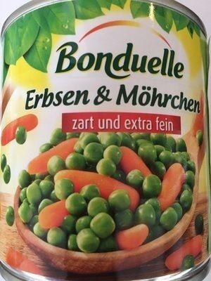 Bonduelle petit pois et carottes - Produkt - de