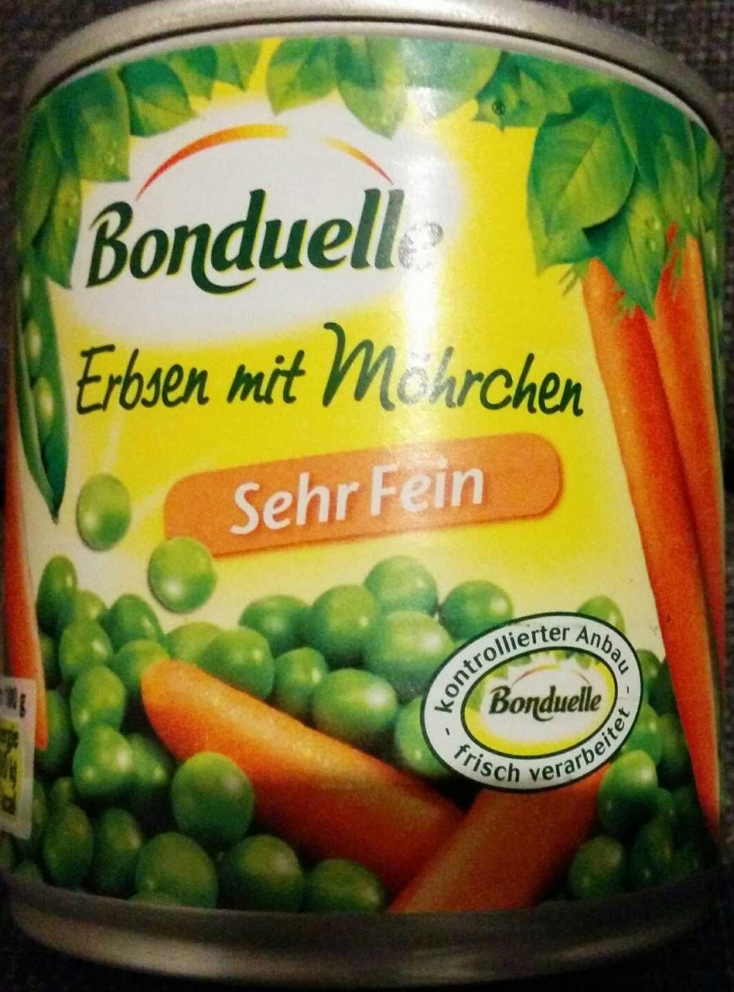 Erbsen mit Möhren - Produit