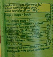 Junge Erbsen zart und fein - Voedingswaarden - de
