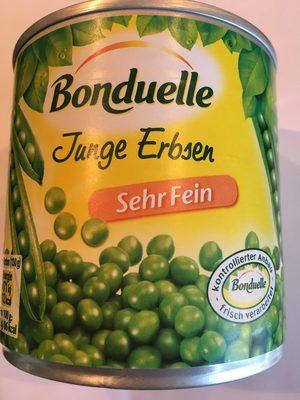 Junge Erbsen zart und fein - Produit - fr