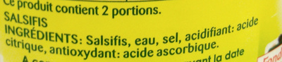 Salsifis - Ingredients - fr