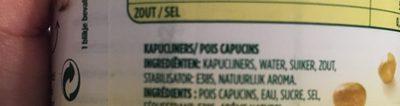 jeunes pois capucins - Ingredients - fr
