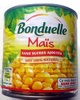 Maïs doux sans OGM - Produit