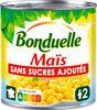 Maïs sans sucres ajoutés - Produit