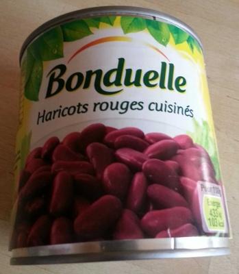 Haricots rouges cuisinés - Product