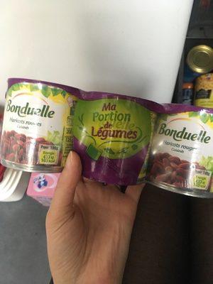 Haricots Rouges Bonduelle, - Product