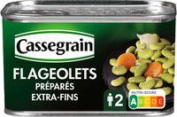 Flageolets cuisinés - sélection extra-fondants - Prodotto - fr