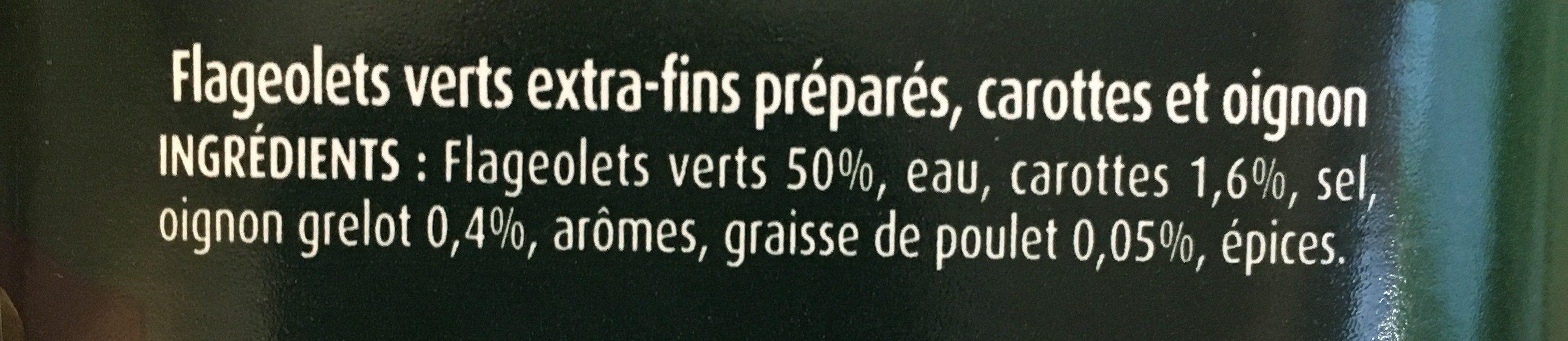 Flageolets cuisinés - sélection extra-fondants - Ingredienti - fr