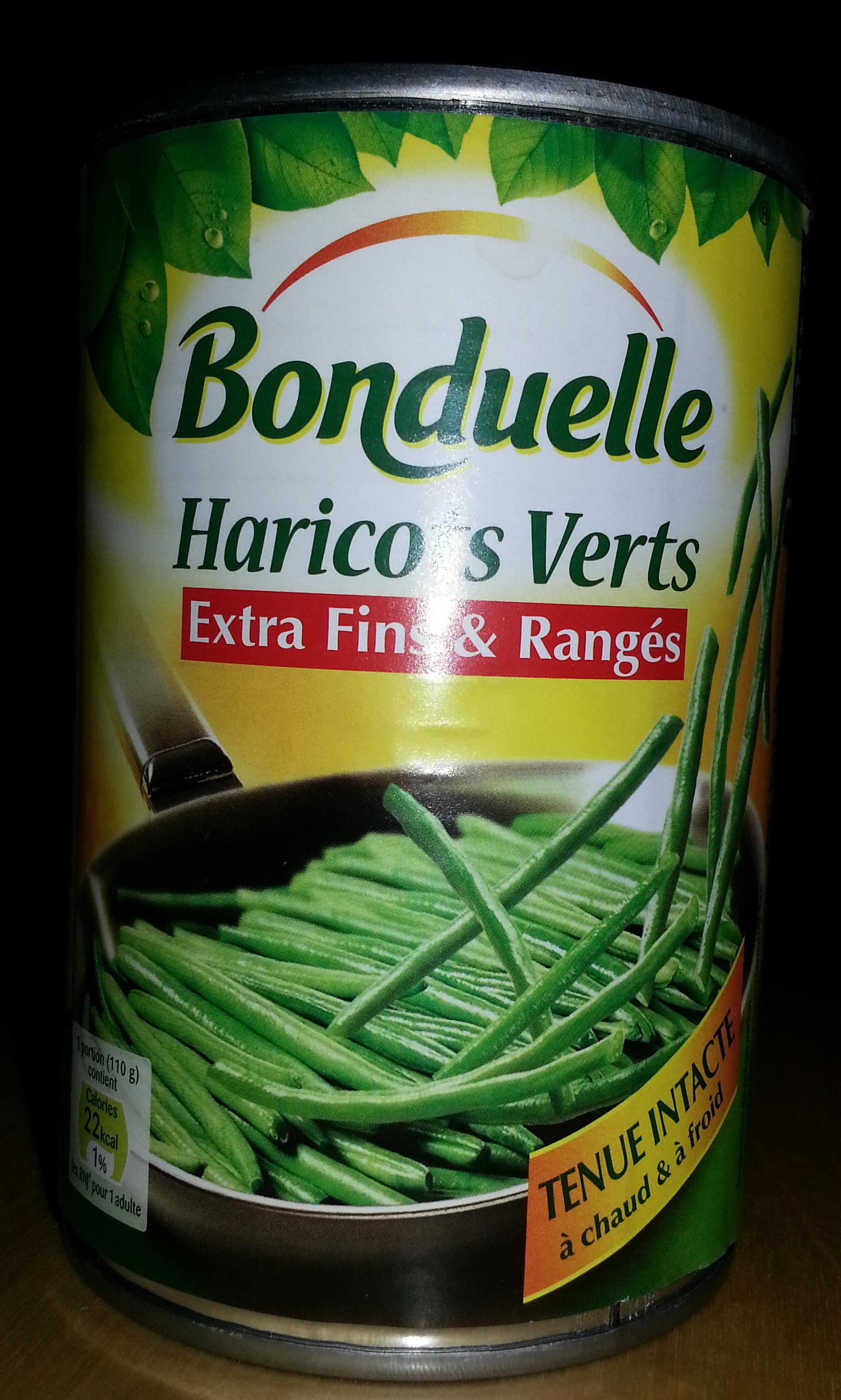 Haricots Verts extra-fins & rangés - Produit