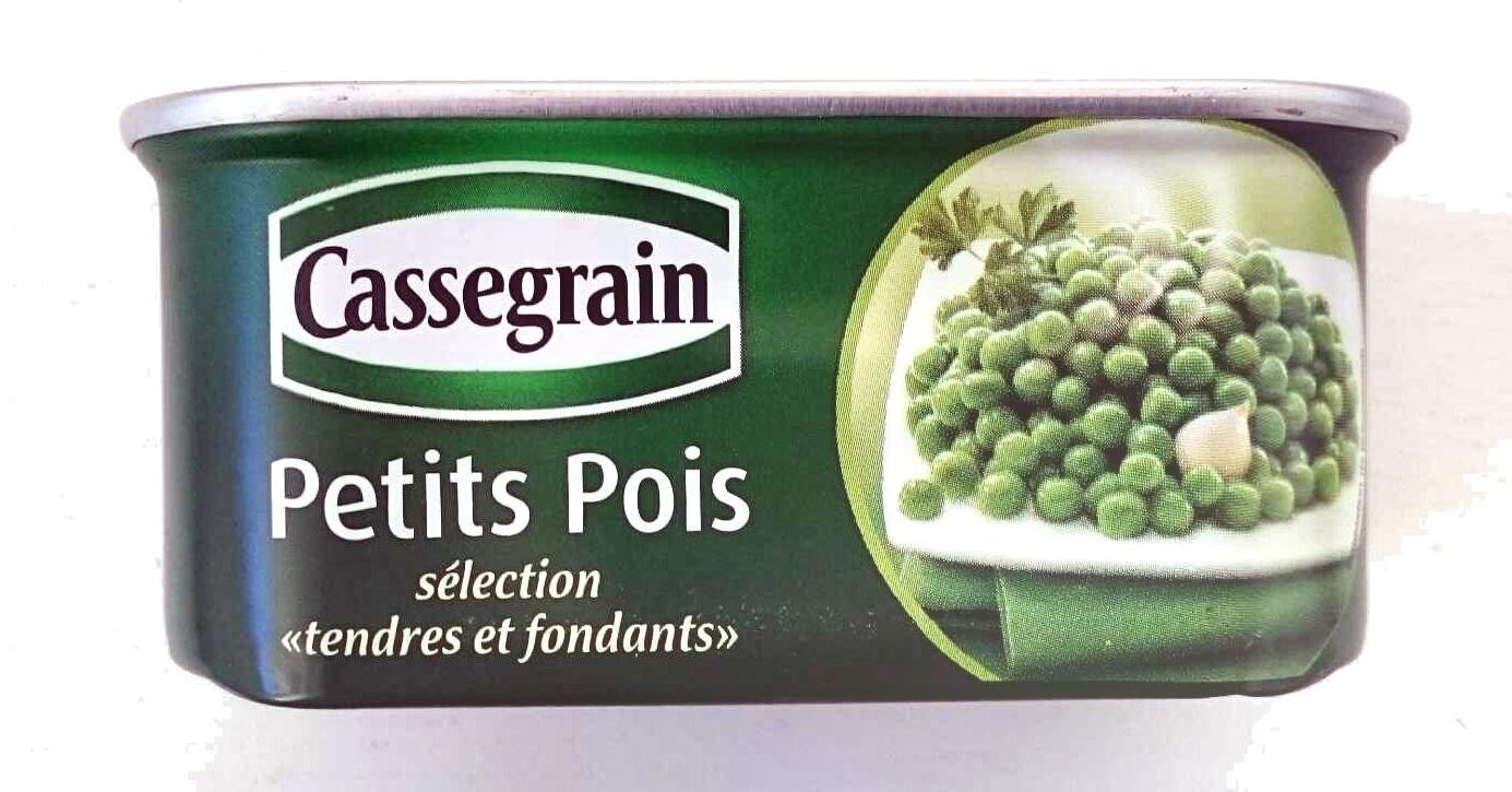 """Cassegrain Petit Pois sélection """"tendes et fondants"""" à l\'étuvée 200g - Produit"""