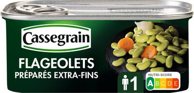 Flageolets préparés - Produit - fr