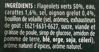 Flageolets cuisinés sélection extra-fondants - Ingrédients - fr