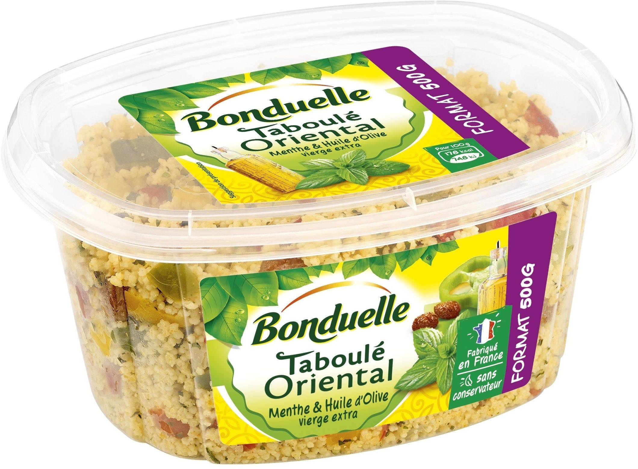 Taboulé Oriental Menthe et Huile d'Olive vierge extra - Produit - fr