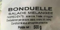 La Salade du Jour Jeunes Pousses - Ingrédients - fr