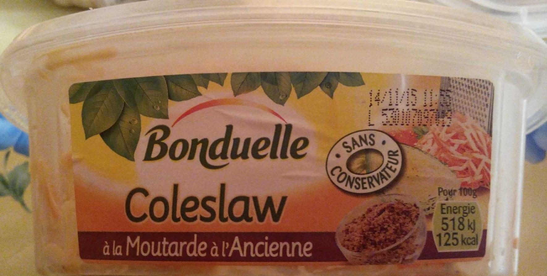 Coleslaw à la moutarde à l'ancienne - Bonduelle - Product - fr