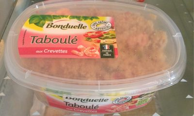 Taboulé aux crevettes - Product - fr