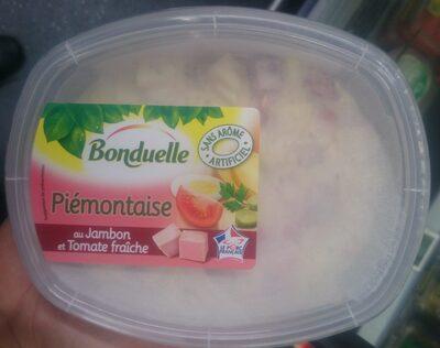 Piemontaise au jambon et tomate fraiche - Produit - fr