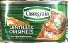 Lentilles cuisinées aux oignons et carottes - 400 g - Cassegrain - Product