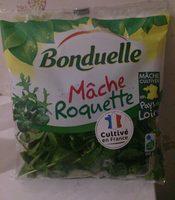 Salade en sachet Mâche Roquette - 100 pourcent fraîcheur - Produit - fr