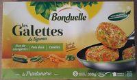 Les Galettes de légumes - La Printanière : Duo de Courgettes, Pois Doux, Carottes - Product