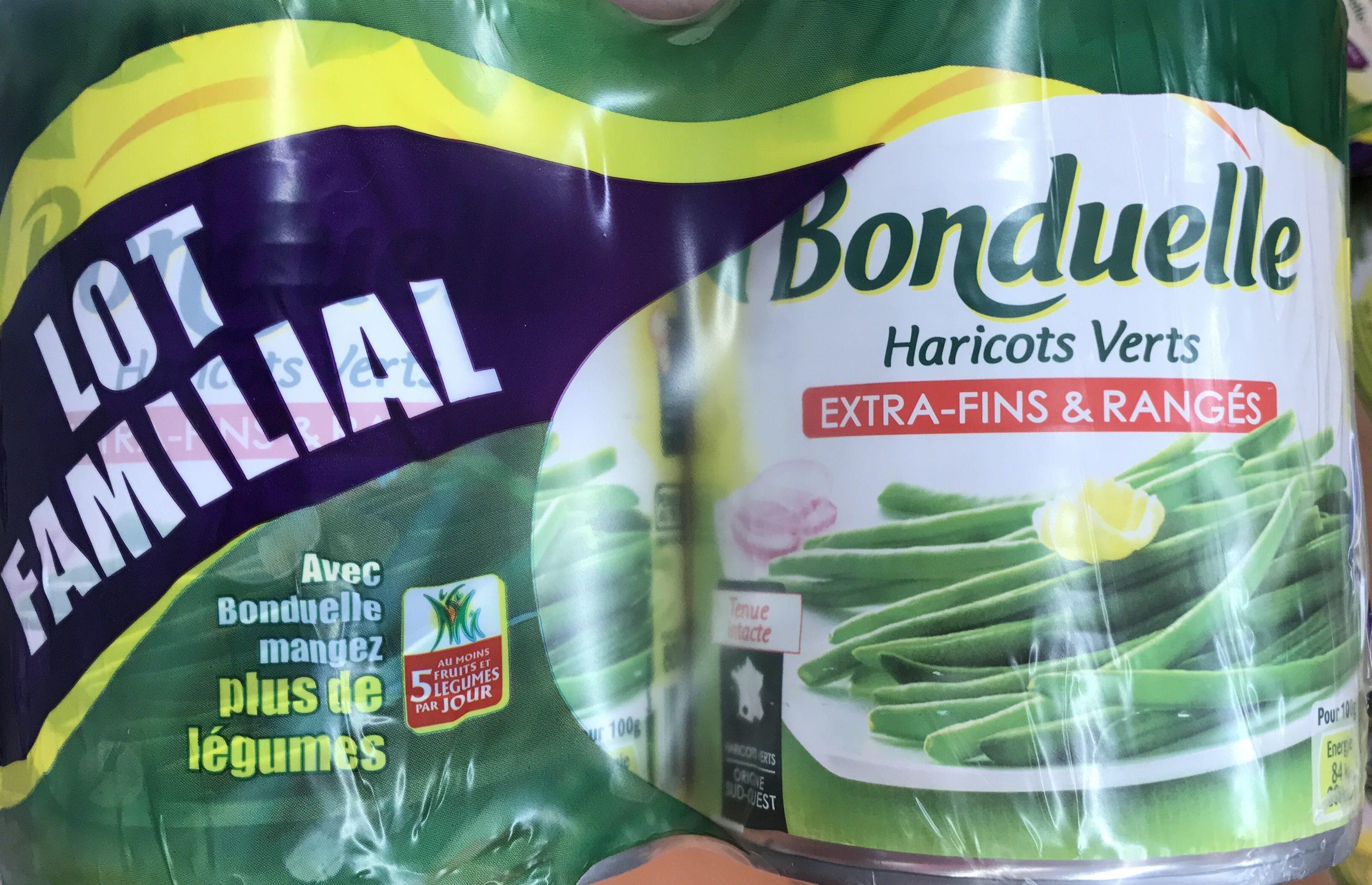 Haricots Verts Extra Fins X2 Bonduelle 880G Prix Choc - Produit