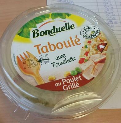 Taboulé au poulet grillé - Produit - fr
