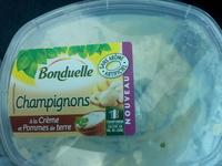 Champignons à la crème et pommes de terre - Product