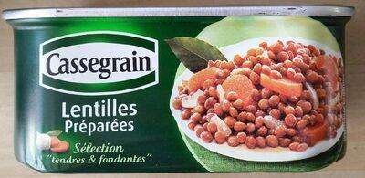 """Lentilles préparées """"tendres & fondantes"""" - Produit - fr"""