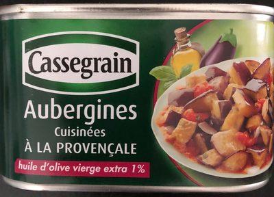 Aubergines cuisinées à la provençale - Produit - fr