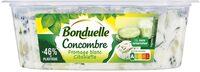 Concombres au fromage blanc et ciboulette - Product - fr