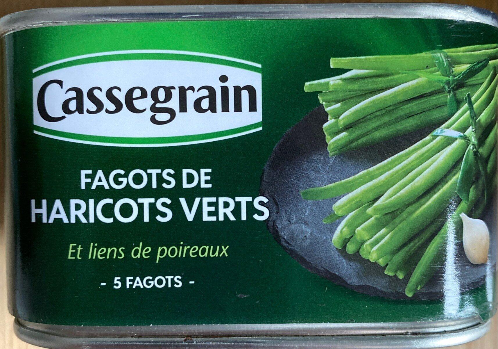 Fagots de haricots verts et liens de poireaux - Produkt - fr