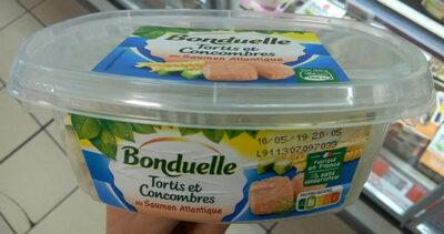 Tortis et Concombres au Saumon - Product