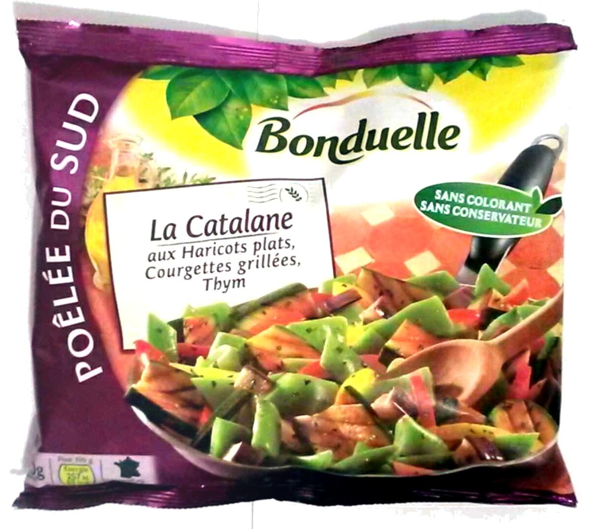 Poêlée du sud : La catalane aux haricots plats, courgettes grillées, thym - Produit - fr