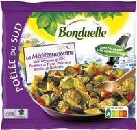 Poêlée La Méditerranéenne - Aubergines et Courgettes grillées, Pommes de terre - Produit - fr