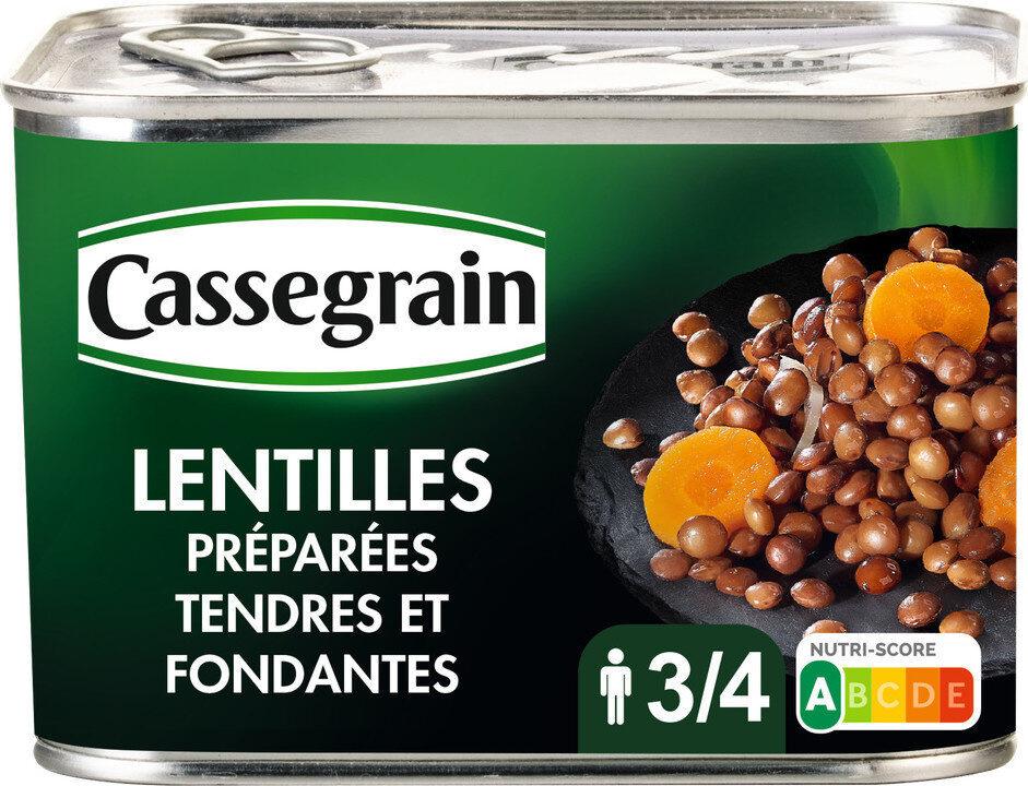 Lentilles préparées - Prodotto - fr