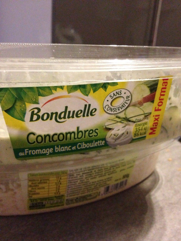 Concombre au Fromage Blanc - Product