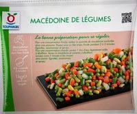 Macedoine de legumes surgelée toupargel - Product - fr