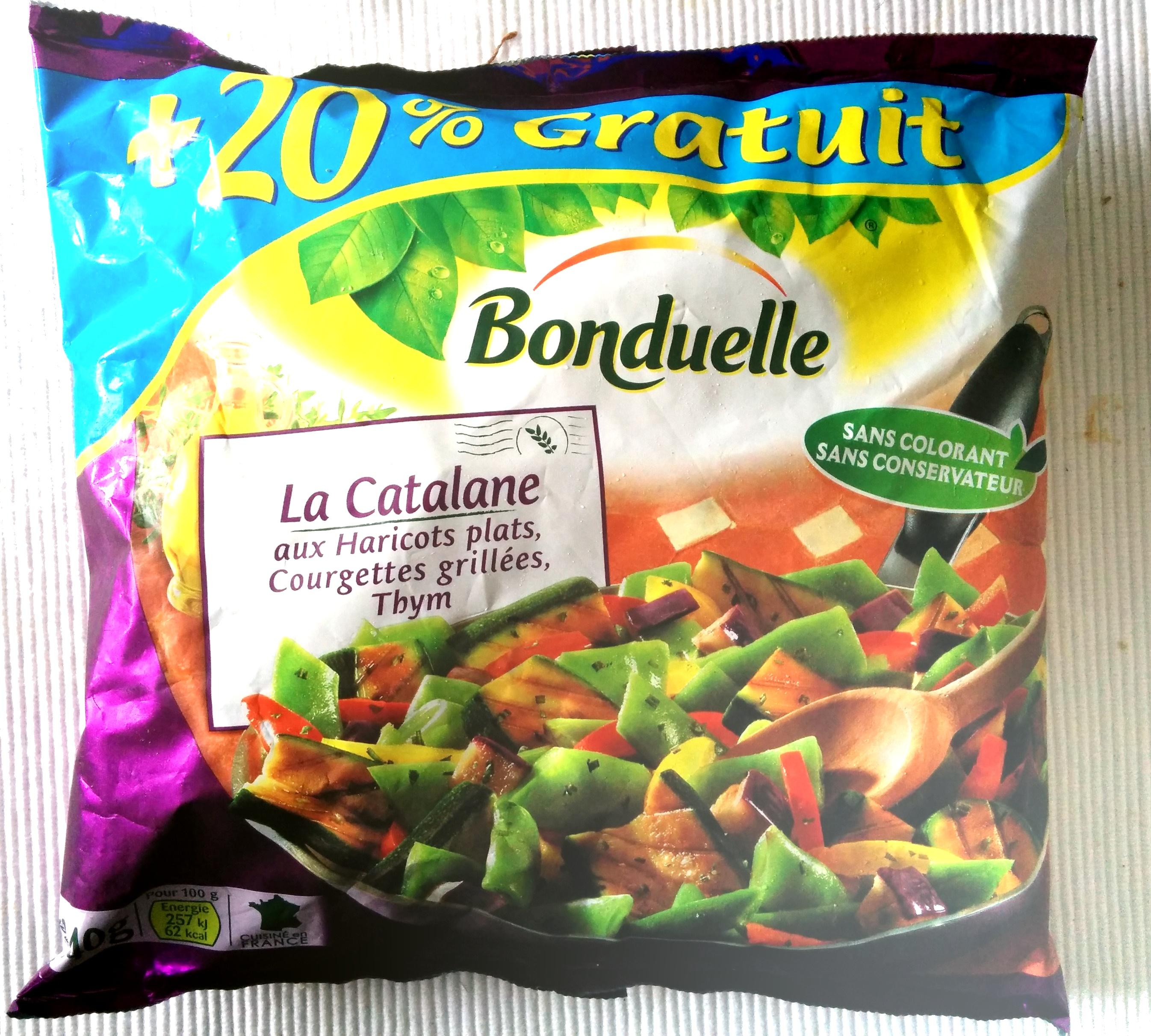 La Catalane aux Haricots plats, Courgettes grillées, Thym - Product