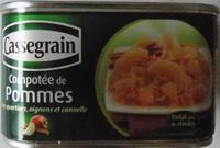 Compotée de pommes - Produit
