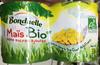 Mais bio al vapore, senza zuccheri aggiunti - Prodotto