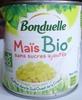 Maïs Bio - Produit