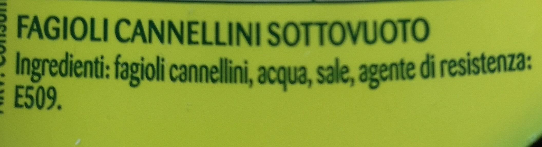 Cannellini - Ingrédients - it